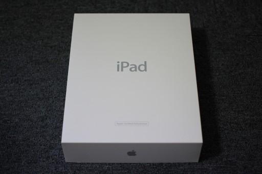 iPadの整備済製品の化粧箱